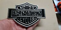 Harley Davidson Chrome Metal Decal Motorcycle Body Tank Emblem Badge Brand New