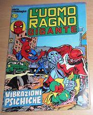 ED.CORNO  SERIE  L'UOMO RAGNO GIGANTE  N° 45  1980  ORIGINALE  !!!!