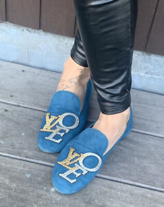 Jolie Mocassin Louis Vuitton Love Taille 37 1/2