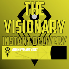 "Destiny 2 Emblem ""The Visionary"" Code only. Playstation, Battle.net or Xbox Live"