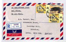 BQ14 World Airmail 1978 Malaysia MALACCA *Jasin Melaka* Registered Cover PTS
