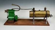 VINTAGE EARLY 20thC. LIVE STEAM ENGINE WORKING MODEL