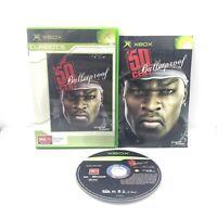 50 Cent Bulletproof Microsoft Xbox Original Game Pal Free Postage Aus Seller