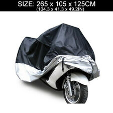 XXXL Motorcycle Scooter Waterproof UV Dust Protector Anti Rain Cover Outdoor