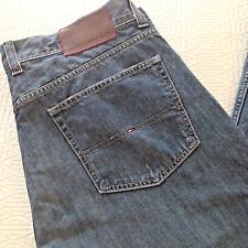 TOMMY HILFIGER Jeans denim estivo vestibilità diritta medium stone Mis. W40 (56)