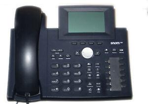 Snom 360 Voip System Phone Telephone #40