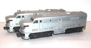 Lionel Postwar 2033 Union Pacific Alco AA Diesel Locomotives! PA