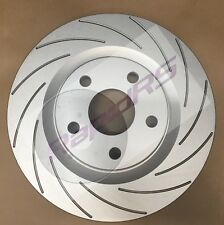 Commodore VE V8 SS Calais Caprice Statesman Slotted Disc Brake Rotors Front Pair