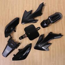 7Pcs Black Plastic Fairing for Honda CRF XR 50 CRF 125cc SSR PRO Pit Dirt Bike