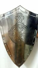 Sca Medieval Knights Shield All Metal Handcrafted adult kid costume gift item