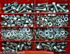 boîte d'assortiment 560 pièces vis acier inoxydable disques écrous M6 DIN 912