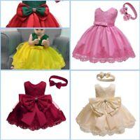 Toddler Wedding Dresses Party Flower Formal Dress Kid Girl Princess Baby Tutu