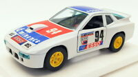 Burago 1/24 Scale Diecast Model Car 1518N - Porsche 924 Turbo Racing Car - White