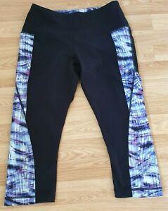 Cynthia Rowley cropped half leg compression leggings, size S, good condition