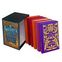Sherlock Holmes Deluxe Hardback Collection Arthur Conan Doyle 6 Books Box Set