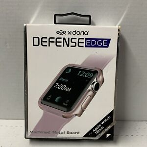 📀 Xdoria Defense Edge - Apple Watch 38mm - Rose Gold/Pink
