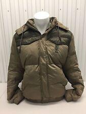 Hugo Boss Orange Winter Jacket Coat Gold/Brown Size 48 Men