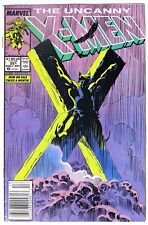 ESZ6326 UNCANNY X-MEN #251 Marvel FN (1989) CLASSIC WOLVERINE CRUCIFIXION Cover`