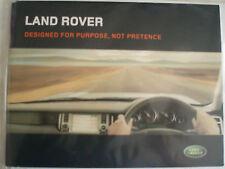 Land ROVER FOLLETO 2005