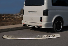 VW T5 Transporter/Caravelle/Multivan Chrome Rear Bumper Protector Guard S.Steel
