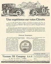 W7463 Gargoyle MOBILOIL - Illustrazione - Pubblicità del 1926 - Old advertising