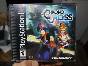 Chrono Cross (PlayStation 1, 2000) RPG Black Label Ps1 TESTED