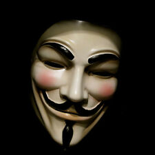 V For Vendetta Guy Fawkes Anonymous Face Mask Fancy Dress Festival Party Yellow