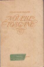 Ferdinando Paolieri, Novelle toscane, Libreria editrice internazionale, racconti