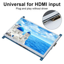 7-Inch 1024 x 600 HD TN TFT/IPS Screen 1080P Display HDMI USB for Raspberry Pi G