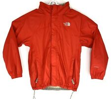 The North Face Boys Hyvent Waterproof Hooded Rain Jacket Size Large 14 16 Red