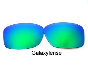Galaxy Replacement Lenses For Oakley Jupiter Squared Sunglasses Green Polarized