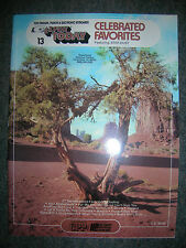 EZ PLAY Songbook #13 Celebrated Favorites Original Edition