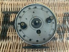 """JW Young & Sons """"Trudex"""" Centrepin Reel 1950's England nicely refurbished to use"""
