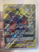 POKEMON GARCHOMP & GIRATINA GX 228 /236 UNIFIED MINDS FULL ART ULTRA RARE CARD