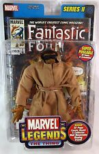 Toy Biz Marvel Legends Series II 2 The Thing Trench Coat Variant Figure