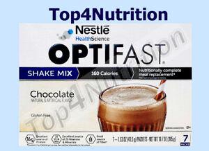 OPTIFAST 800 POWDER SHAKES | CHOCOLATE | 84 SERVINGS | MIX | NEW FORMULA