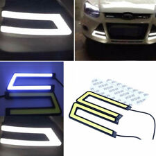 Car COB 6000K Waterproof LED U Shape Daytime Running Light DRL Headlight Lamp