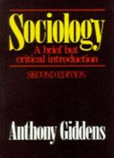 Sociology: A brief but critical introduction,Anthony Giddens
