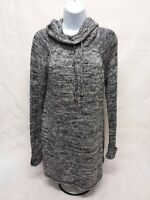 Women's Large Cable & Gauge Long Sleeve Sweater Tunic