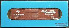 E&C Shops 0301 DENVER RIO GRANDE WESTERN Boxcar PS-1 D&RGW 63650 Double Door NIB