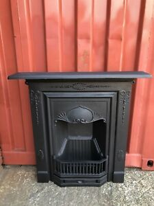 Victorian Cast Iron Fireplace 🚚 DELIVERY FREE OR £35 Most Uk