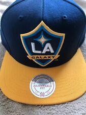 LA Galaxy Large Logo Mitchell & Ness Adjustable Cap