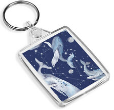 Whale Cetus Constellation Keyring Space Moon Sky Stars Cool Keyring Gift #13231