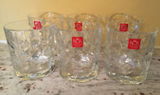 lot of 6 NWT Double Old Fashioned Laurus by ROYAL CRYSTAL ROCK
