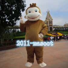 Curious George monkey Adult Mascot Costume Festival new year party