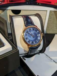 Raymond Weil Maestro Automatic - As New - Rose Gold - Leather - Swiss