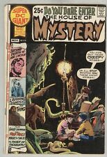Super DC Giant S-20 October 1970 VG Neal Adams Cover - House of Mystery