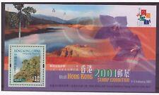 Hong Kong MNH 2000 Landscape Views Mountains Stamp Exhibition sheet