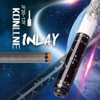 KONLLEN Star Billiard Pool Cue Stick Carbon Fiber Real Inlay Billiard Cue Carbon