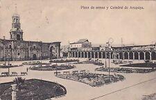 PERU' - Arequipa - Plaza de armas y Catedral